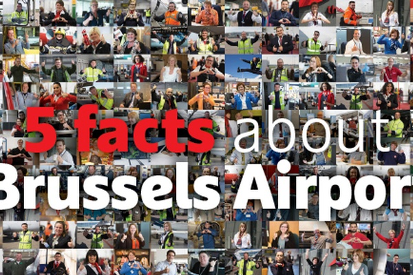 5 facts about Brussels Airport