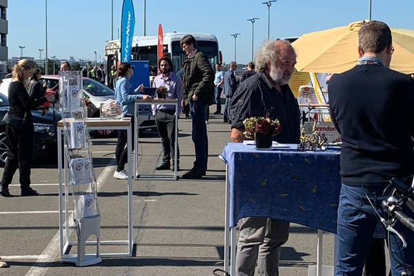 Mobility fair for the airport community